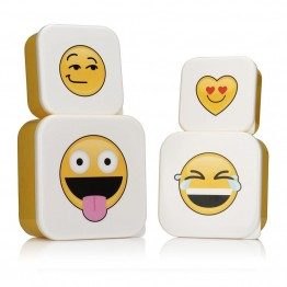Emoji Stackable Lunch Boxes