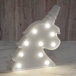 Unicorn Marquee Light