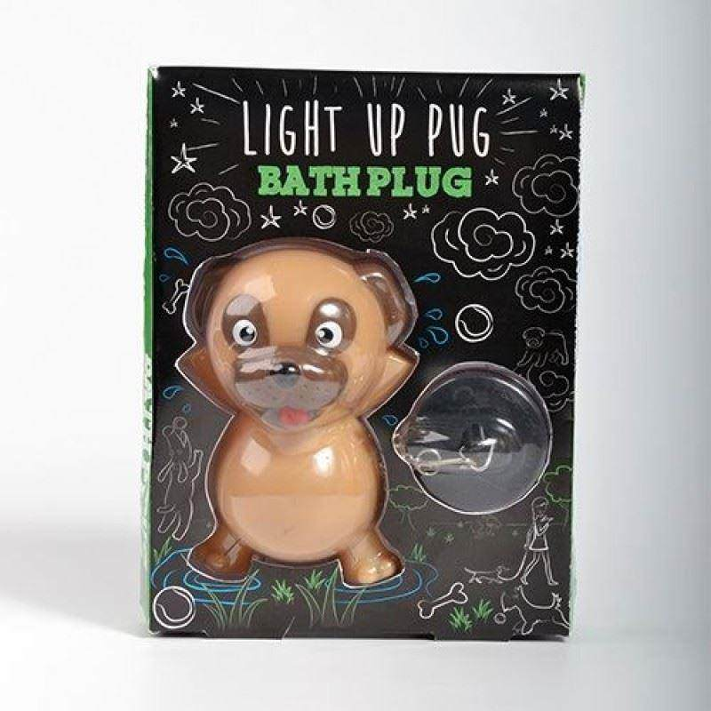 Pug Light Up Bath Plug