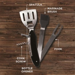 5-in-1 BBQ Tool
