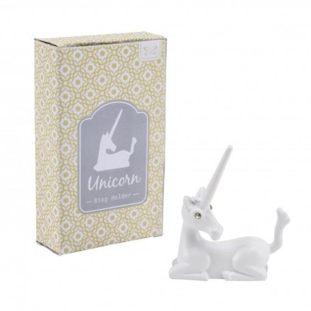 Unicorn Ring Holder White