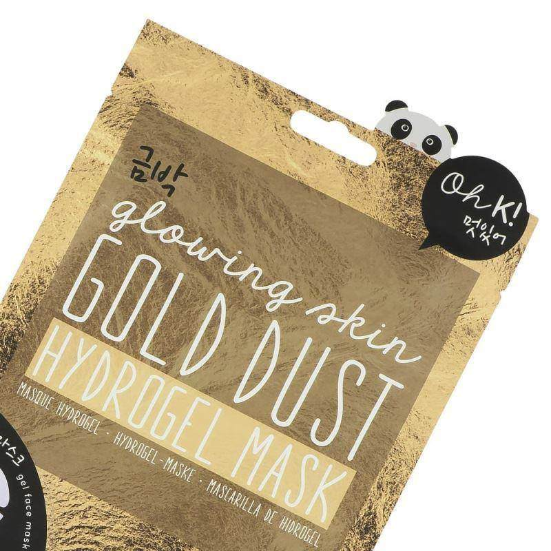 Gold Dust Hydrogel Mask