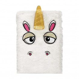 Unicorn Fluffy Notebook