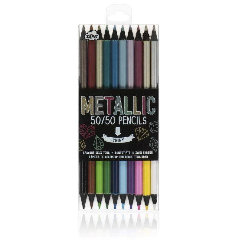 50/50 Metallic Pencils