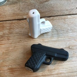 Pistol Salt & Pepper Pots