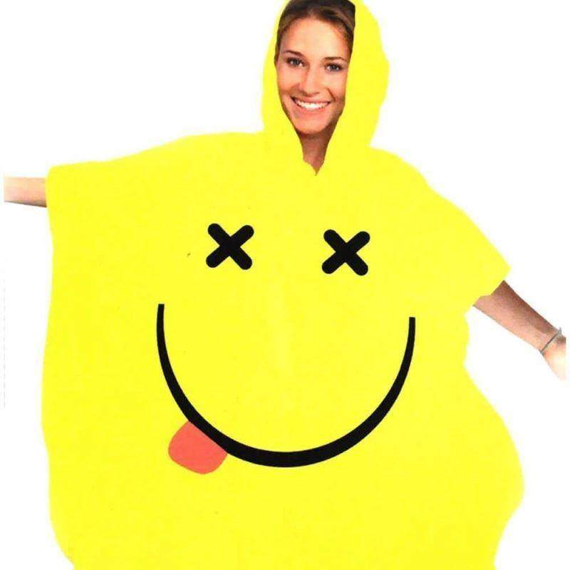 Smiley Rave Poncho