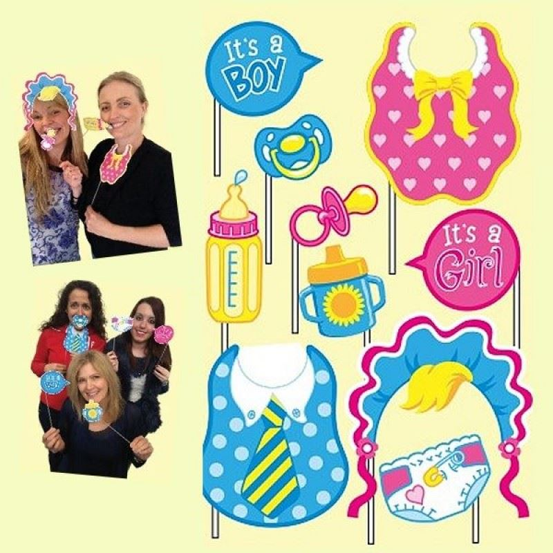 Baby Shower Photo Props