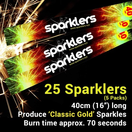 Party Time Sparklers 40cm (25)