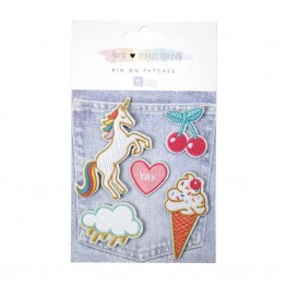 We ♥ Unicorns Patches