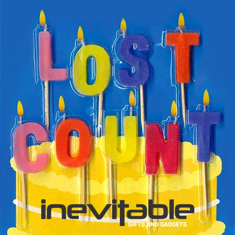 Birthday Cake Candles Lost Count