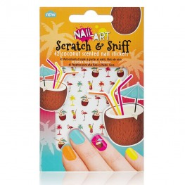 Scratch & Sniff Nail Stickers